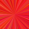 Abstract radial stripes background - ray burst graphic Royalty Free Stock Photo