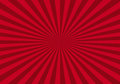 Red abstract starburst background Royalty Free Stock Photo