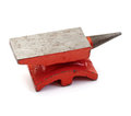 Red Anvil Royalty Free Stock Photo