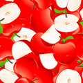 Red apple background Royalty Free Stock Photos
