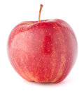 Red apple isolated on white background Stock Images