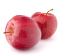 Red apple isolated on white background cutout Stock Image
