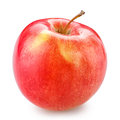 Red apple isolated on white with clipping path Royalty Free Stock Photo