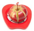 Red apple and special knife Royalty Free Stock Photo