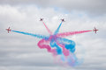 The Red Arrows Royalty Free Stock Photo