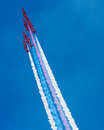 The Red Arrows RAF Display Team Royalty Free Stock Photography