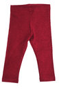 Red baby pants over white Royalty Free Stock Images