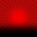 Red Background With Black Burst