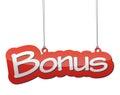 Red background bonus