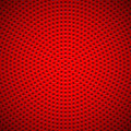 Red background with circle perforated pattern abstract technology seamless speaker grill texture for web sites user interfaces ui Royalty Free Stock Photos