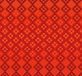 Red background diamonds geometry seamless repetition refraction retro shiny wallpaper abstract Stock Photography