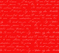 Red background with i love you inscription in different languages Royalty Free Stock Photo
