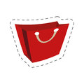red bag gift shopping commerce Royalty Free Stock Photo