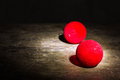 Red ball christmas still life Royalty Free Stock Photo