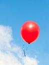 Red balloon Stock Photos