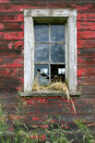 Red Barn Window Royalty Free Stock Photo