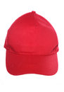 Red baseball cap cut out Stock Photo
