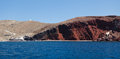 Red Beach in Akrotiri. Santorini. Greece. Stock Photos