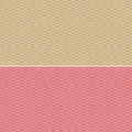 Red and beige small print gingham style background Stock Photos