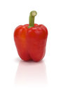 Red bell pepper (Clipping path included) Royalty Free Stock Photo