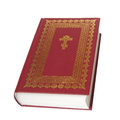 Red bible, Stock Photography