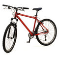 Red bicycle Royalty Free Stock Photo