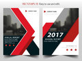 Red black abstract annual report Brochure design template vector. Business Flyers infographic magazine poster.Abstract layout