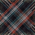 Red black blue and gray lines on a dark background vector illustration grunge effect Royalty Free Stock Photo