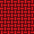 Red and black geometric pattern Royalty Free Stock Photo