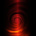 Red black spiral background abstract illustration Royalty Free Stock Image