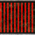 Red black straight stripes Stock Photography