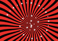 Red and Black Sunburst vector background Royalty Free Stock Photo
