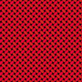 Red Black Woven Tile Royalty Free Stock Photo
