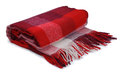 Red blanket Royalty Free Stock Photo