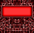 Red blocks background Stock Photography