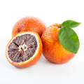 Red blood oranges Royalty Free Stock Photo