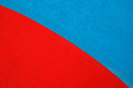 Red and blue acrylic resin floor background