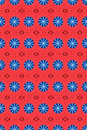 Red and blue circle pattern 2 Royalty Free Stock Photo