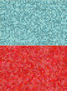 Red and blue tile backgrounds Royalty Free Stock Photography