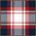 Blue And Red Tartan Plaid Seamless Scottish Pattern Royalty Free Stock Photo