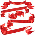 Red bow, gift, the award. Royalty Free Stock Images