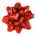 Red bow isolated Royalty Free Stock Photo