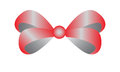Red bow a for a present Stock Photography