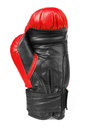 Red boxing gloves isolated on white Royalty Free Stock Photography