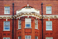 Red brick building photo of a in central london Stock Images