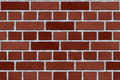 Red brick exterior wall Royalty Free Stock Photo