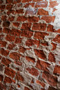 Red brick grunge wall Royalty Free Stock Photo