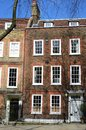 Red brick large london victorian  townhouse Royalty Free Stock Photo