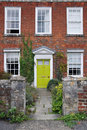 Red Brick London Town House Royalty Free Stock Photo