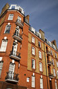Red Brick Mansion, London Stock Image
